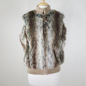 Powder River Outfitters By Panhandle Faux Fur Vest